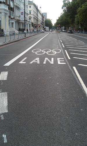 Games Lane i South Kensington